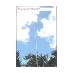 GP 3W, verticale tribande WARC 10-18-24 MHz