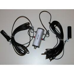 DPL18 II, dipôle 1/2 onde 18 MHz + choke balun