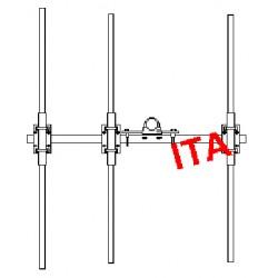 ITA3POM, Yagi 68/88 MHz robuste 3 éléments
