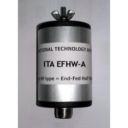 EFHW-A, boîtier pour filaires 50/70 MHz
