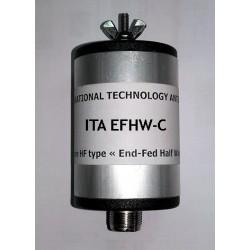 EFHW-C, box for 14/18/21 MHz EFHW antenna