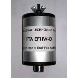 EFHW-D, boîtier pour filaires 7/10 MHz