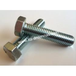 Stainless steel screws A2 hexagonal head 5X40