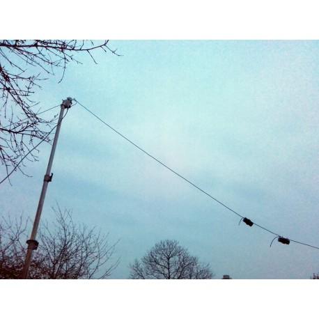 DPL101520, dipôle filaire tribande 14/21/28 MHz