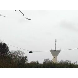 DPL4080, double dipôle 7/3,5 MHz à trappes coaxiales
