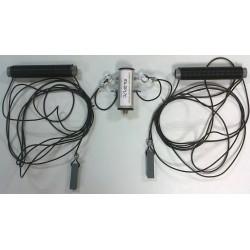 DPL7C II, dipôle 1/2 onde 7 MHz raccourci + choke balun