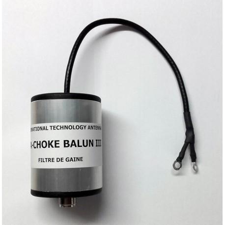 "CHOKE BALUN 3, filtre de gaine ""Mode Commun"""