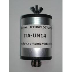 UN14, 1:4 Unun (50 Ω:200 Ω)