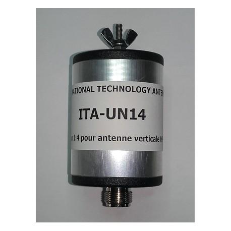 UN14, unun de rapport 1:4 (50 Ω:200 Ω)