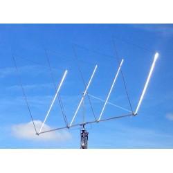 DL154, Delta-Loop 4 éléments 21 MHz
