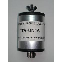 UN16, 1:6 Unun (50 Ω:300 Ω)