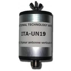 UN19 (MTFT), 1:9 unun (50 Ω:450 Ω)