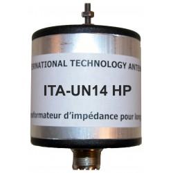 UN14 HP, 1:4 Unun (50 Ω:200 Ω) High Power