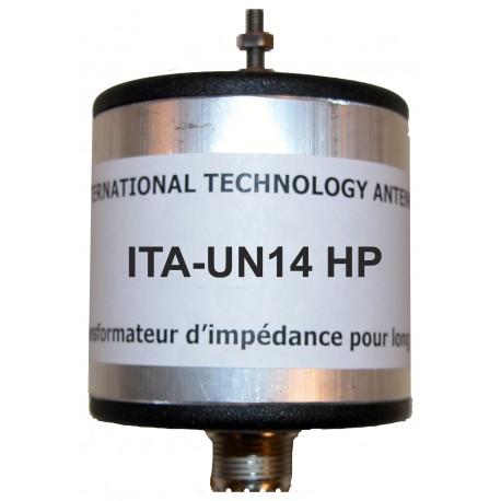 MTFT-HP, 1:9 Unun (50 Ω:450 Ω) High Power