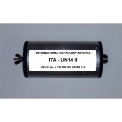 UN14 II, 1:4 unun (50 Ω:200 Ω) + Choke balun