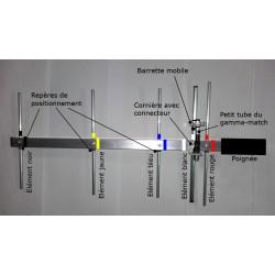 40355, Yagi 403.5 MHz pour les radiosondes