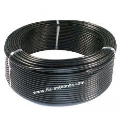 "RF240UF, coaxial cable 6 mm ""low losses + double shielding"" x 100 m"