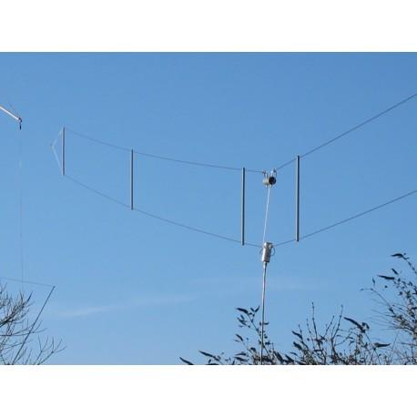TTFD, Folded dipole 3-30 MHz - ITA-ANTENNAS