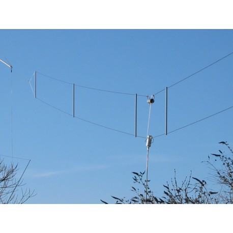 TTFD, dipôle replié pour bandes HF