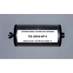 UN16 HPII, 1:6 unun (50 Ω:300 Ω) High Power + Choke balun
