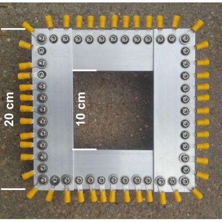 PR48+, kit plaque radians pour verticale