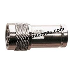 N M/10, connecteur N mâle 10 mm