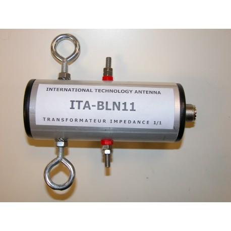 BLN11, balun de rapport 1:1 (50 Ω:50 Ω)