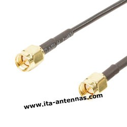 Coaxial cables 2,8 mm SMA/SMA