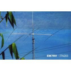 ITA203SB, Yagi 3 éléments 14 MHz boom court
