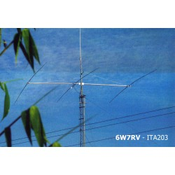 ITA203SB, Yagi 3 elements 14 MHz short boom