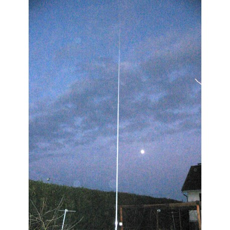 HF PRO-8, verticale multibande 3 à 50 MHz