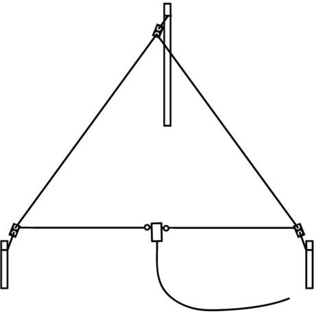 DELTA F15, Delta-Loop filaire 21 MHz