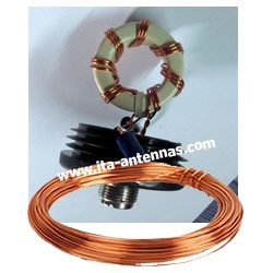 FIL_EMA2, solderable enamelled copper wire, 2mm