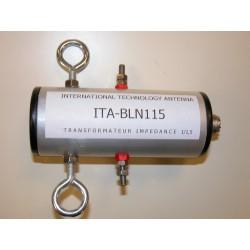 BLN115, balun de rapport 1:1,5 (50 Ω:75 Ω)
