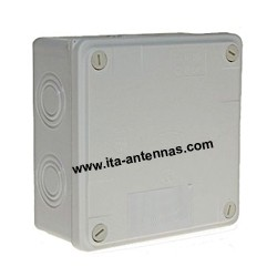 PVCBox, 125x125x50 mm box
