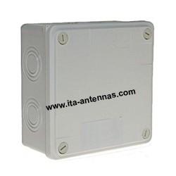 PVCBox, large boîtier PVC 125x125x50 mm