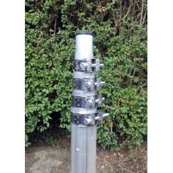 MT8/1.5, 8 m aluminium telescopic mast