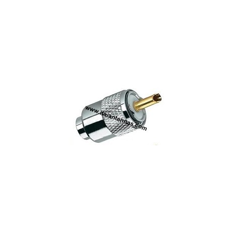 PL259/10A, connector max. 12 mm cable