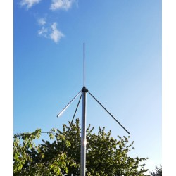 PMSE 185V, vertical 185 MHz antenna