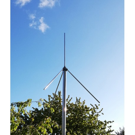 PMSE 201V, vertical 201 MHz antenna