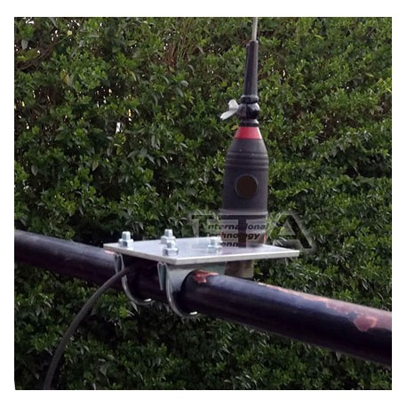 SUPBAL42, Support d'antenne mobile sur balcon