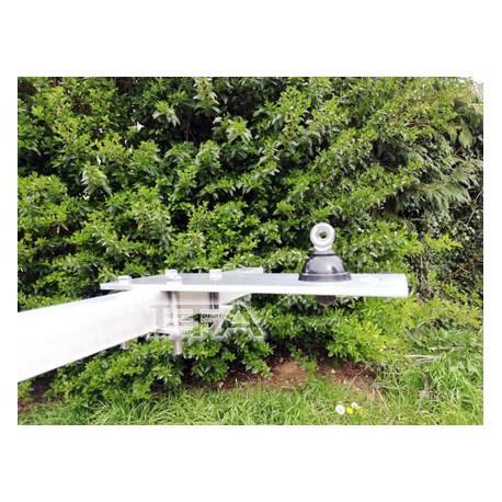 SUPBALC60, Mobile antenna support on balcony