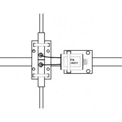 BLN14C, balun de rapport 1:4 (50 Ω:200 Ω)