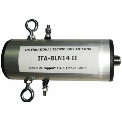 BLN14 II, 1:4 Balun (50 Ω:200 Ω) + Choke balun