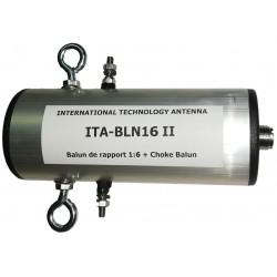 BLN16 II, balun de rapport 1:6 + choke balun