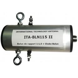 BLN115 II, balun de rapport 1:1,5 + choke balun