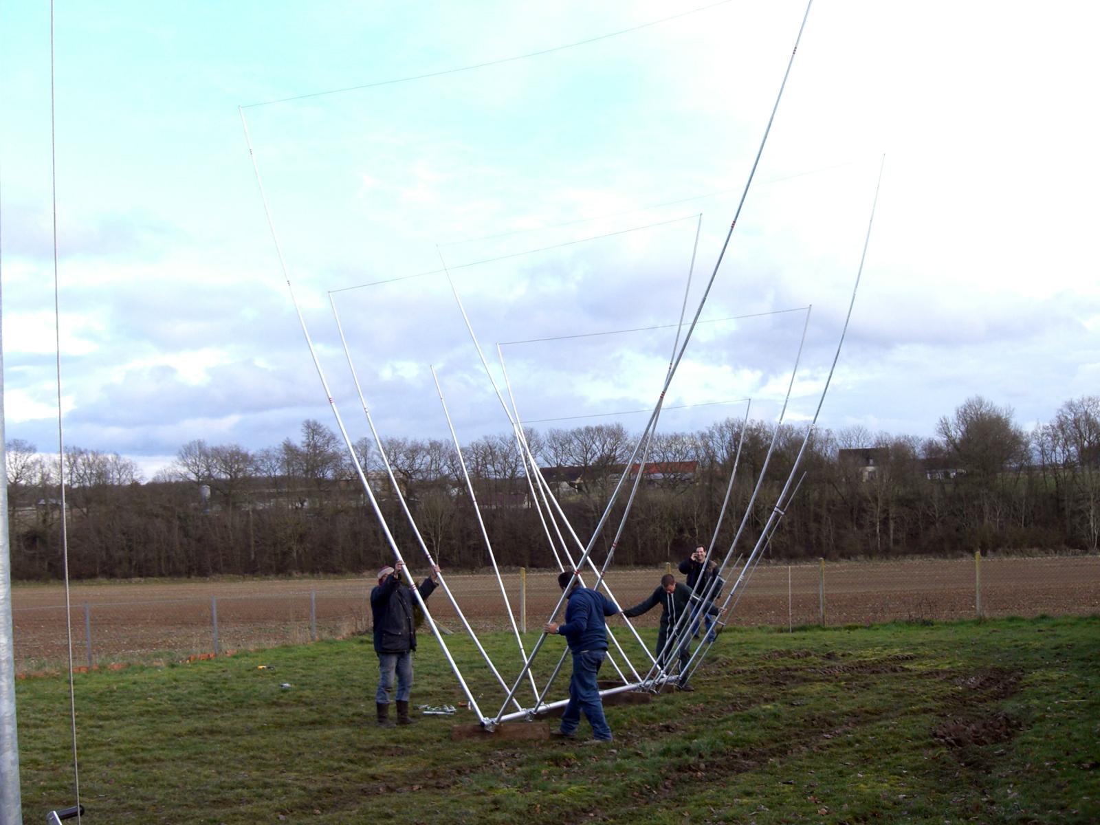 Prototype Delta-loop 2 éléments sur 3 bandes !