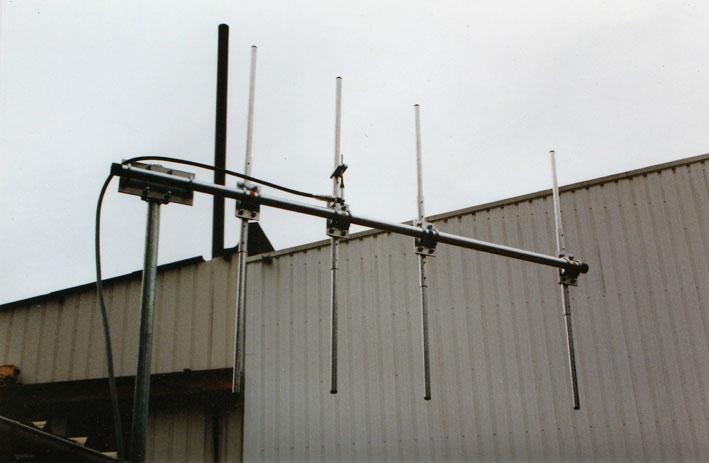 ITA4PMR, Yagi 150/174 MHz robuste 4 éléments